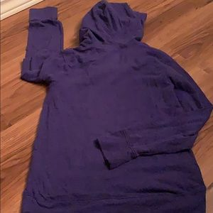 Old Navy Shirts & Tops - Old navy active pull on hoodie medium purple